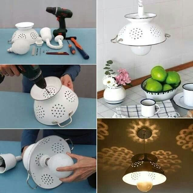 Recycle Old Items Into DIY Budget Lighting Projects That Will Make Your Home  Shine Homesthetics ... Amazing Pictures