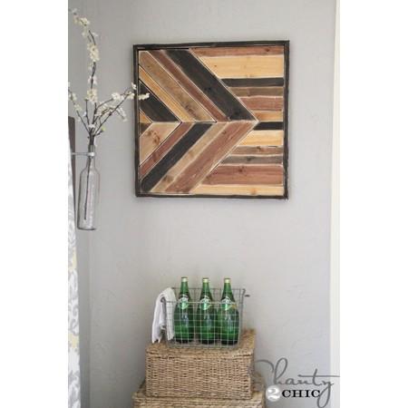 Top 30 Pallet Wall Art DIY Projects You Will Love-homesthetics (4)