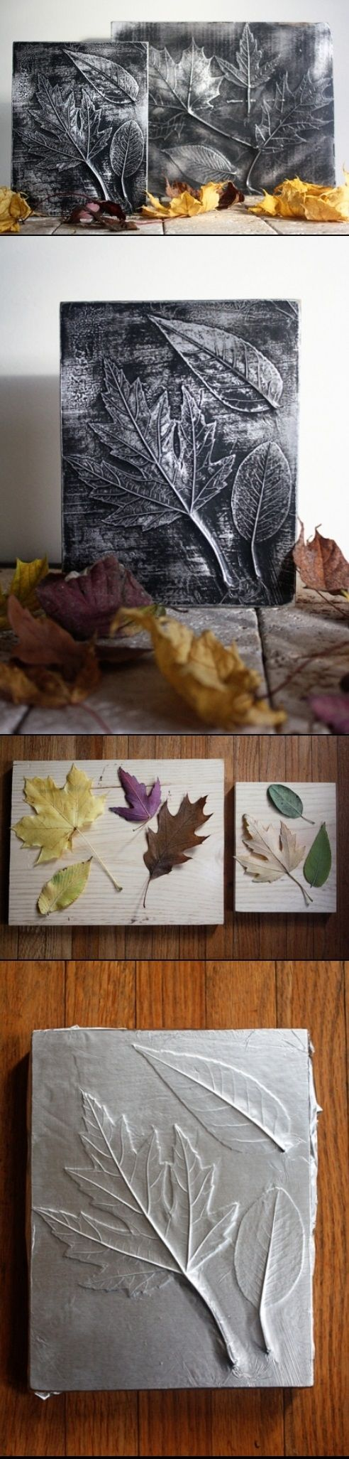 20. USE LEAVES AND METALLIC SHEETS