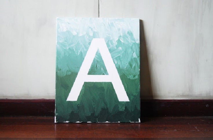 Initials Paintings