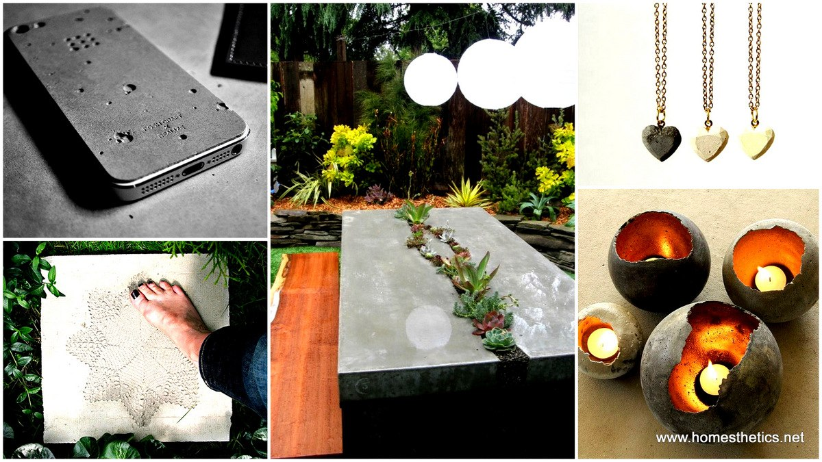 Top 32 diy concrete and cement projects for the crafty side of you solutioingenieria Gallery