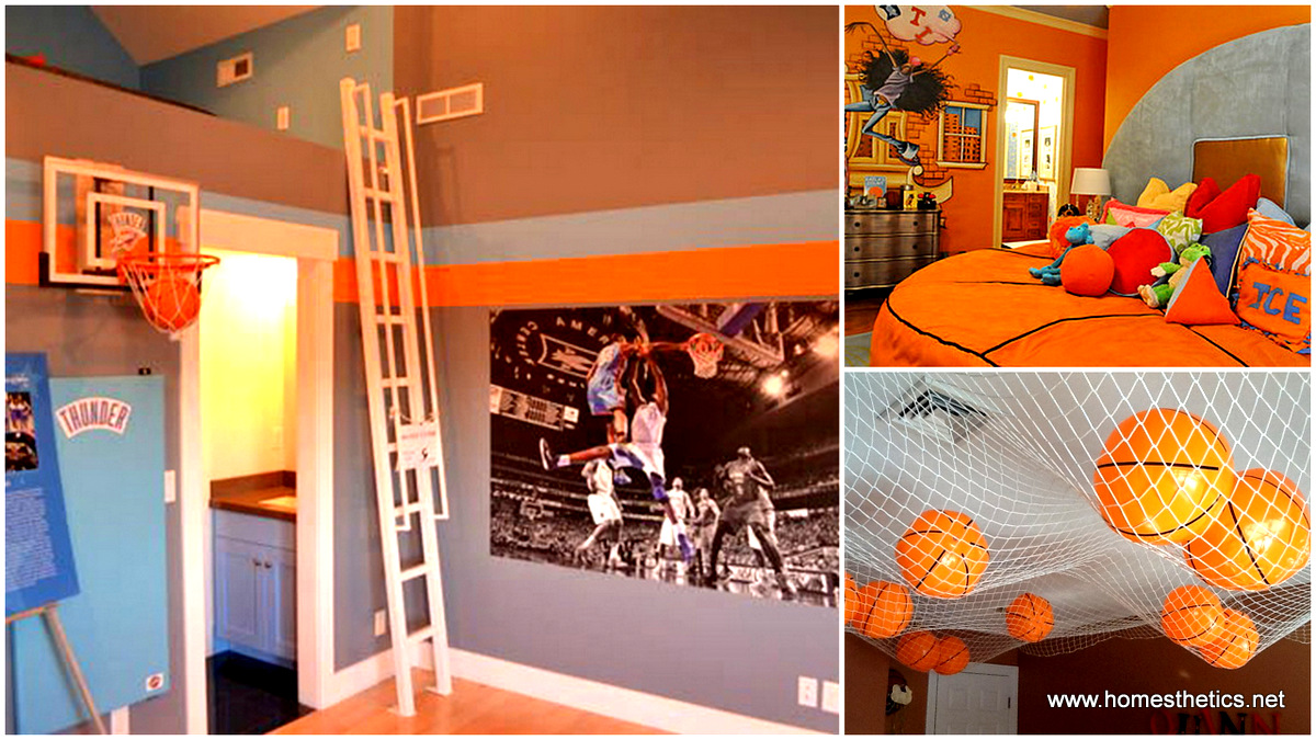 Simple things to consider for an inspiring basketball Www home decor ideas