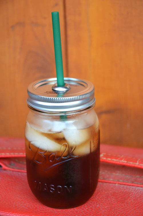 A TO GO CUP MASON JAR
