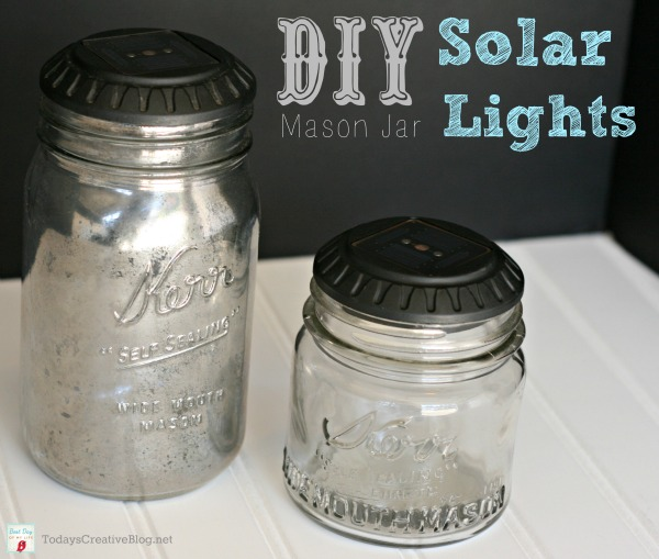 SOLAR LIGHTS Mason Jar