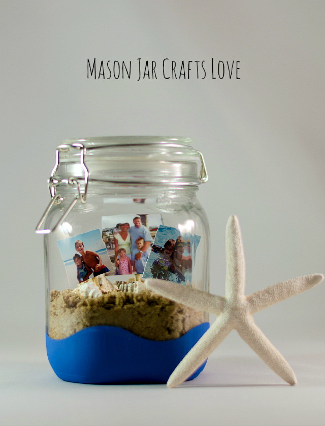 BEACH MEMORIES IN A JAR
