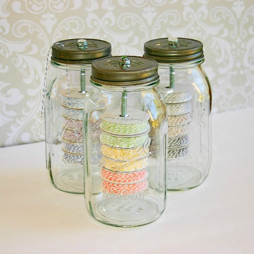 TWINE JARS Crafts You Will Love