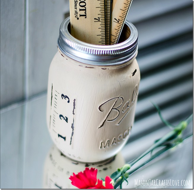 DIY Mason Jar RULER CUP