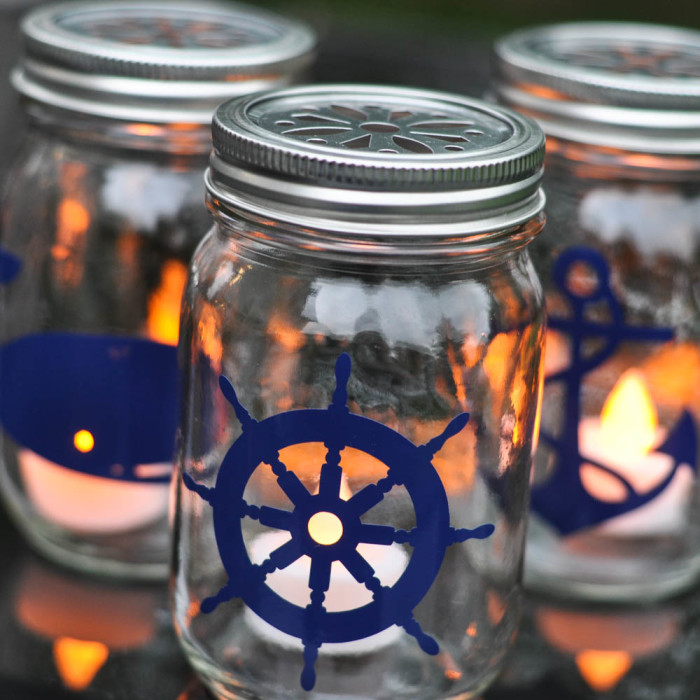 MAKE SOME SEASONAL NAUTICAL LIGHTS