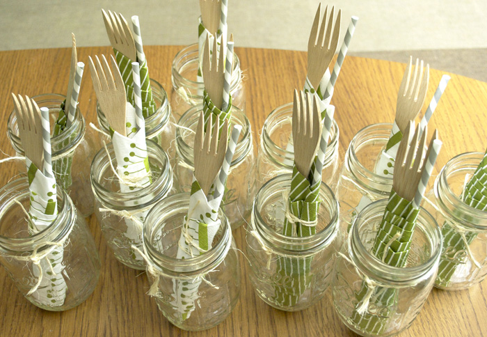 ENTERTAIN WITH PLACE SETTING JARS