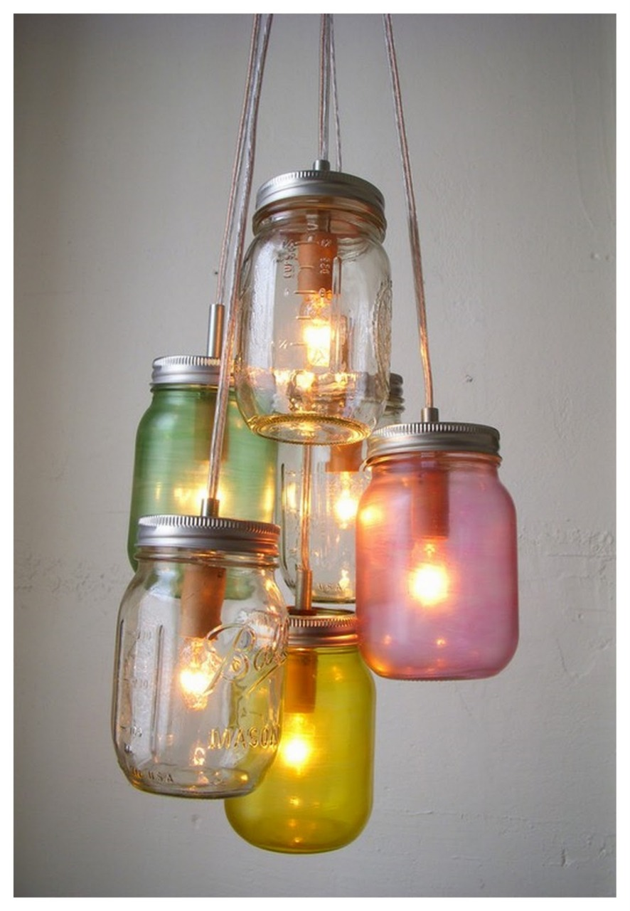 CLUSTERED LIGHT JARS