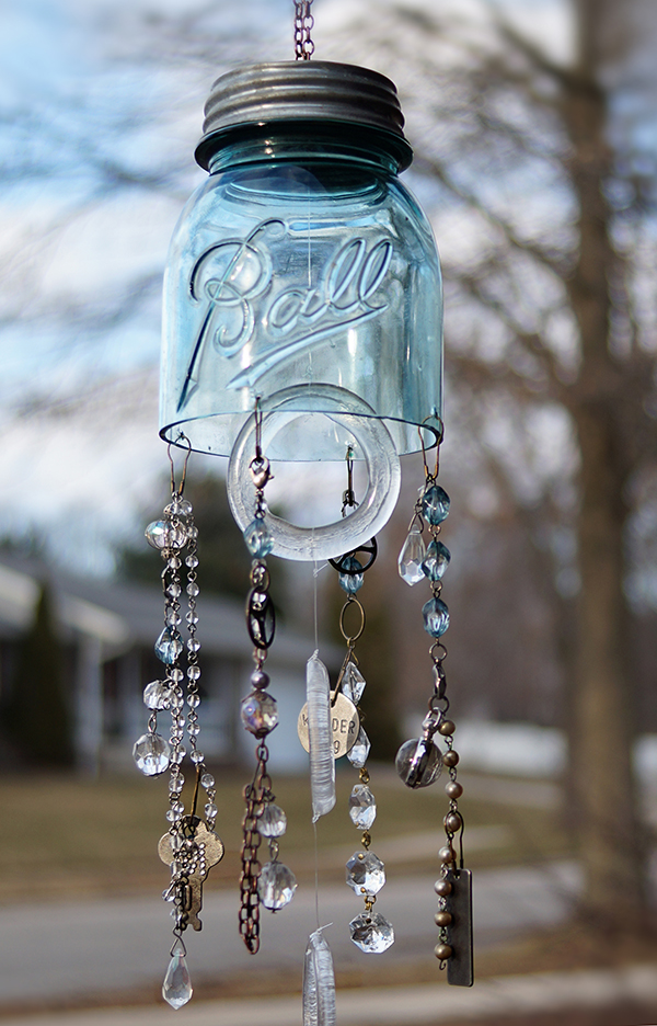 MAKE A JAR WIND CHIME