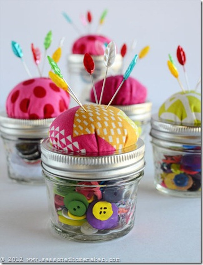 MAKE A JAR PINCUSHION