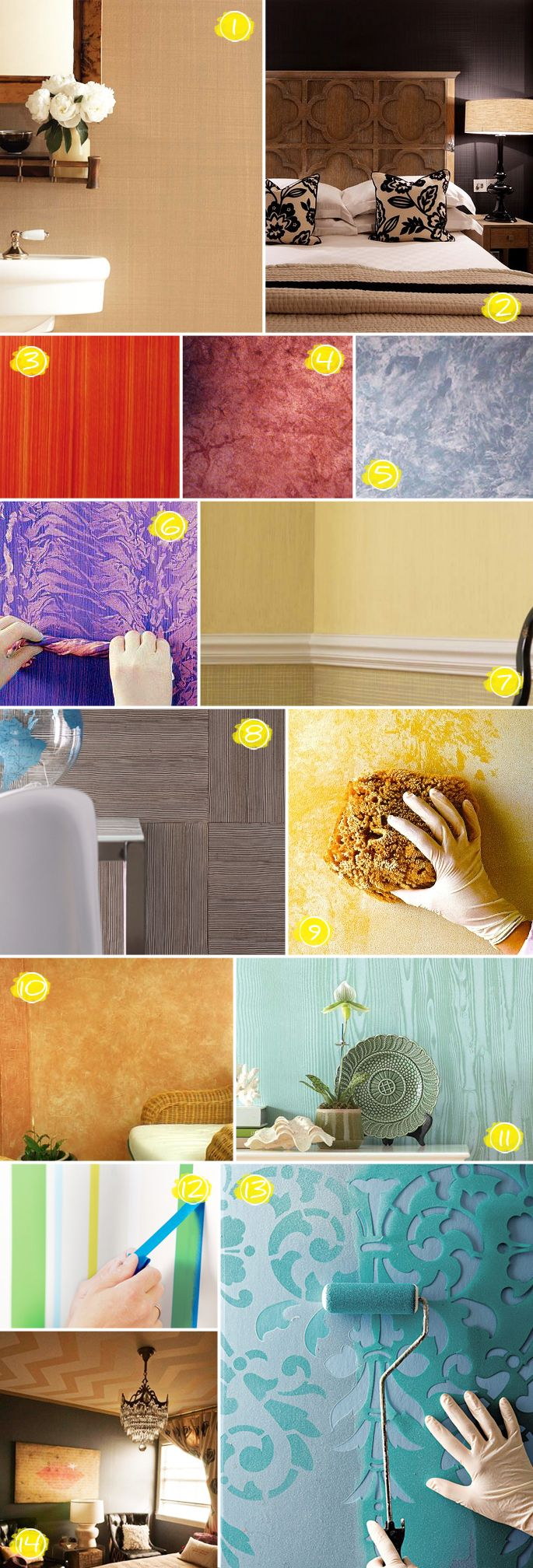 Unusual Wall Decorating Ideas For Renters Photos - The Wall Art ...