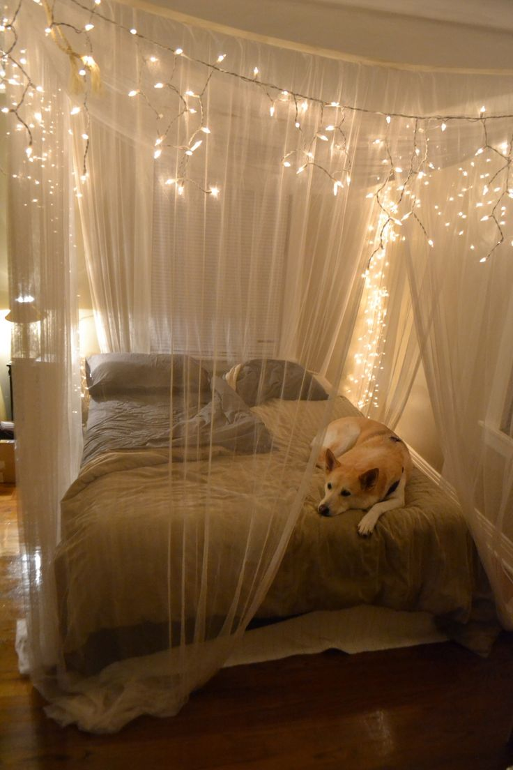 String Lights Bedroom Ideas Part - 42: 16 Mesmerizing Sterry String Light Projects For A Magical Home Decor To  Start Today (5