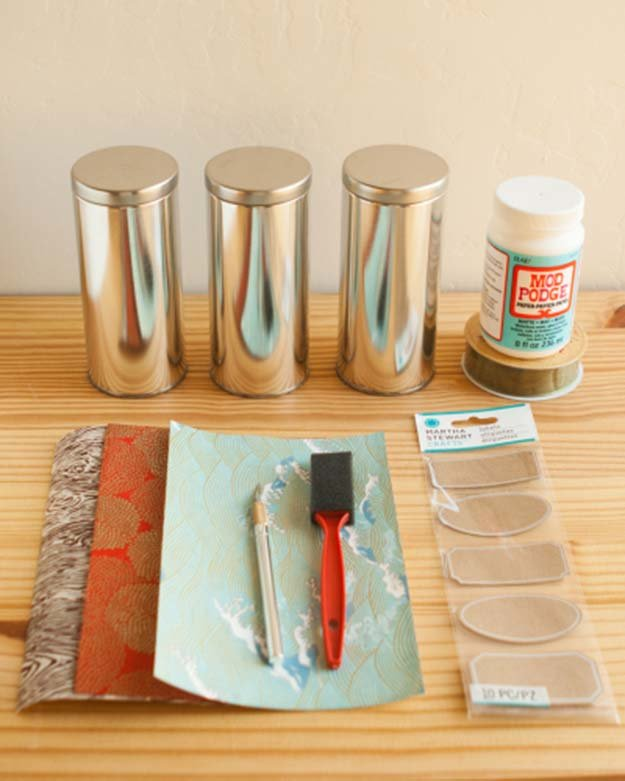 21 Simple & Creative Mod Podge Crafts That You Can Start Right Away homesthetics decor (10)