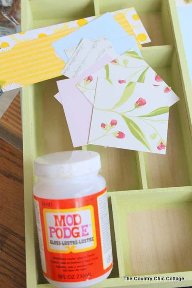 21 Simple & Creative Mod Podge Crafts That You Can Start Right Away homesthetics decor (42)