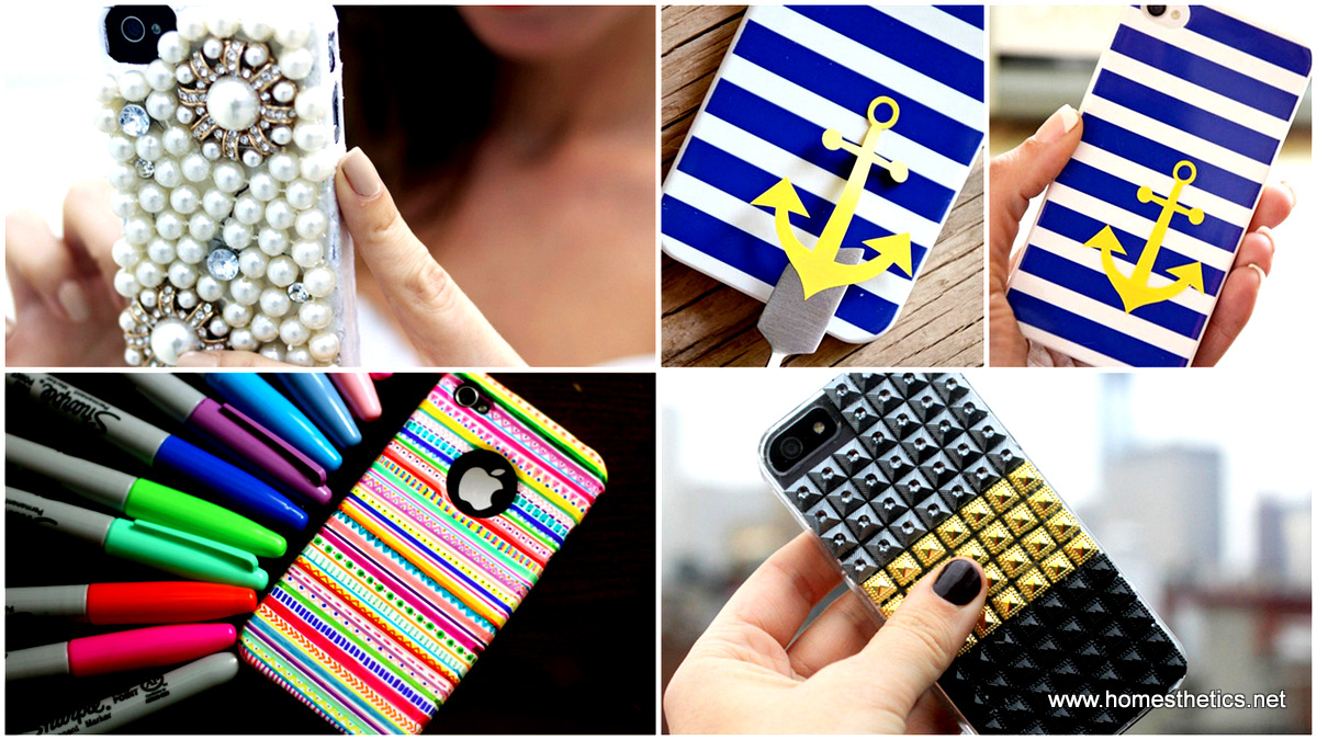 on sale a9803 7d7bb Accessorize And Decorate With These 25 DIY iPhone Cases