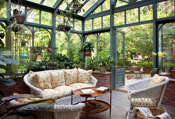 Beautifully Expand the Interior of Your Home Outside Through These 5 Conservatory Uses homesthetics decor (2)