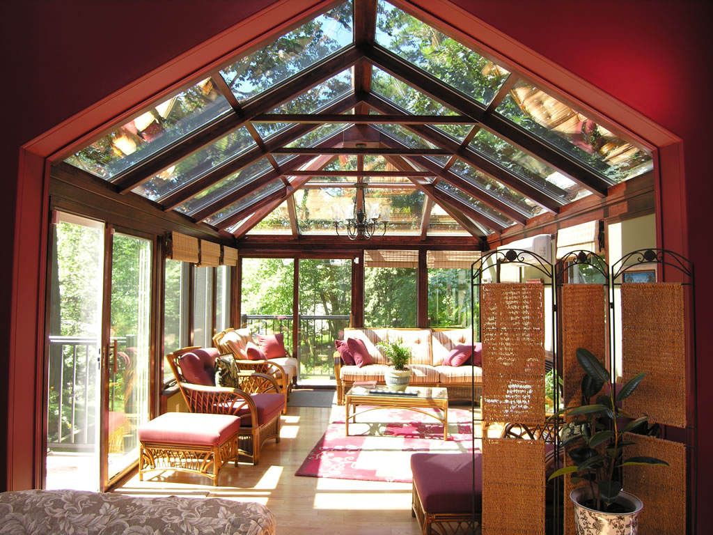 Delightful Beautifully Expand The Interior Of Your Home Outside Through These 5  Conservatory Uses