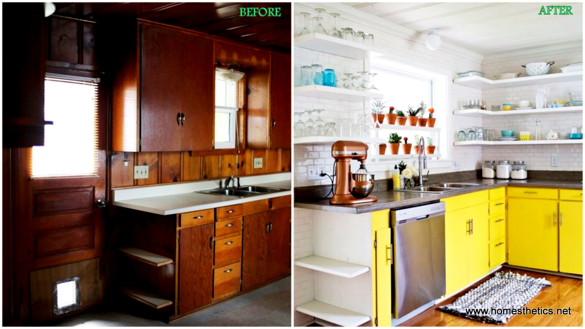 Before Amp After Kitchen Makeover Projects To Inspire Your