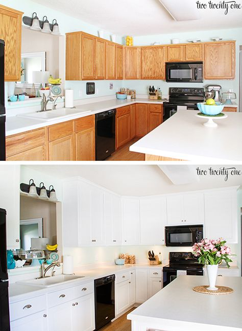 Before & After  Kitchen Makeover Projects from Around the Web-homesthetics.net (17)