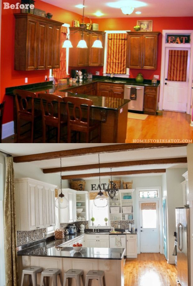 Before & After  Kitchen Makeover Projects from Around the Web-homesthetics.net (8)