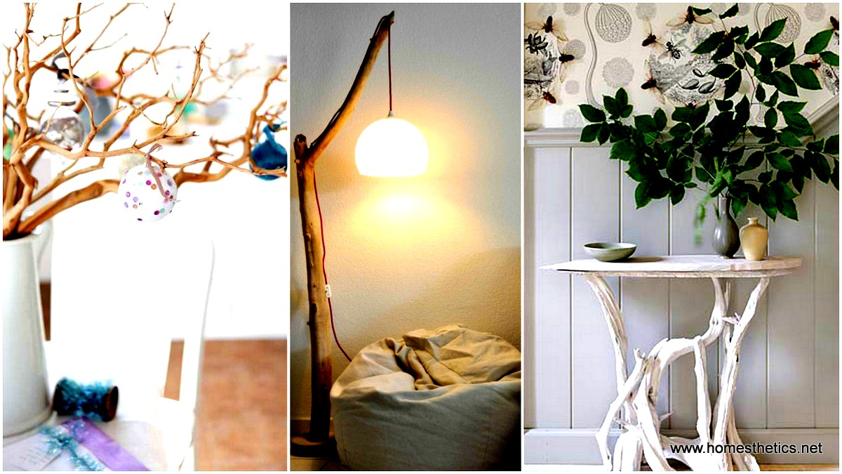 20 Insanely Creative DIY Branches Crafts Meant to Sensibilize Your Decor