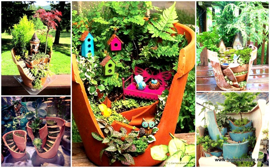 Broken-Pots-Turned-Into-Brilliant-DIY-Fairy-Gardens