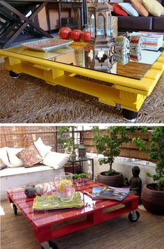 Colorful Upcycling Furniture Projects (4)