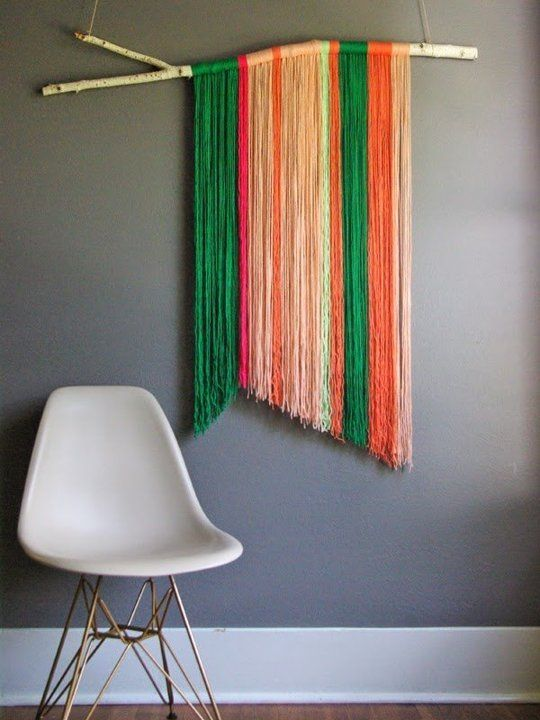 Creative Fun For All Ages With Easy DIY Wall Art Projects_homesthetocs.net (13)