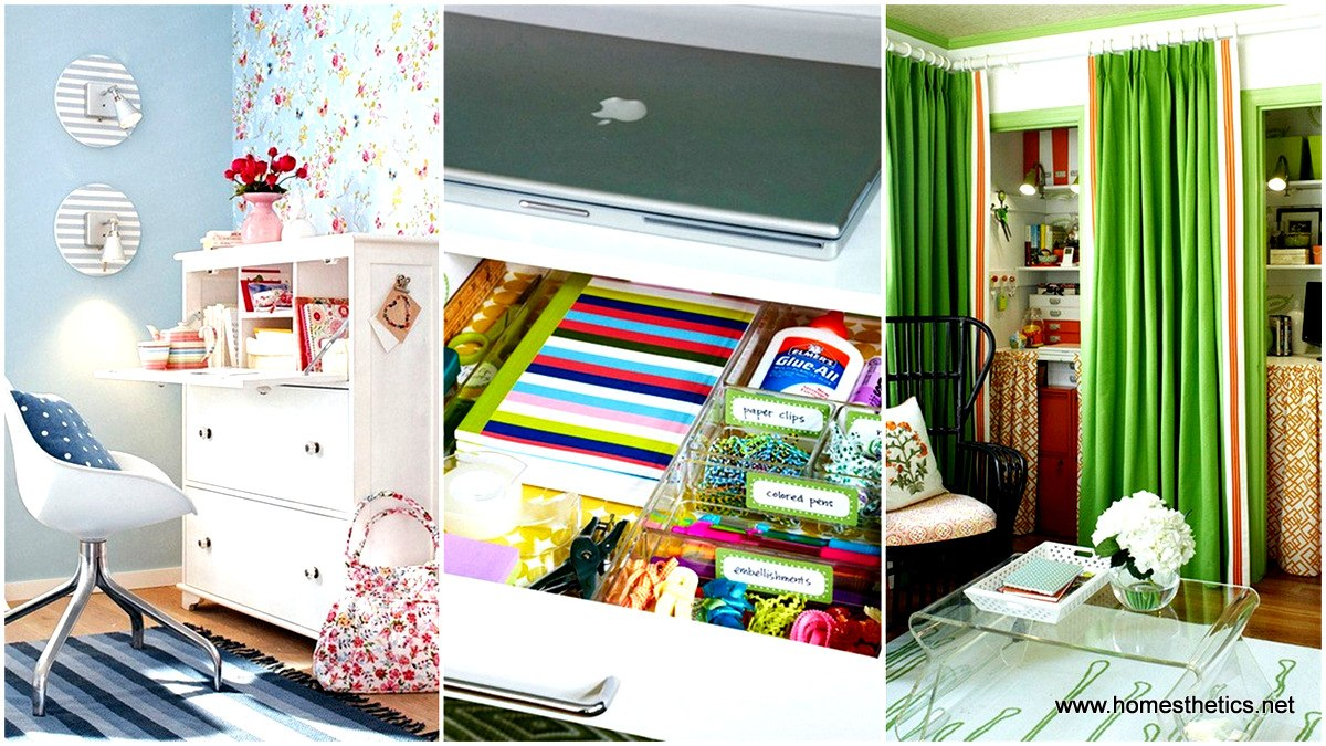 creative office solutions. Temporary Solutions For Renters Design \u2013 10 Small Creative Home Offices Office