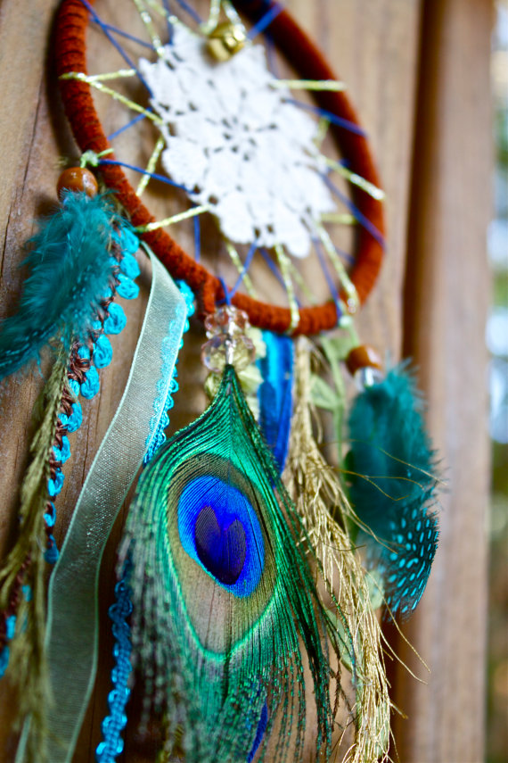 How to Make a Dream-catcher Tutorial & Beautiful DIY Dream-catcher Inspiration Pack for Beginners homesthetics decor (14)