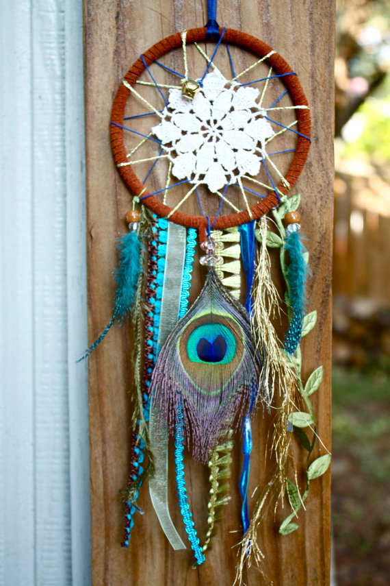 How to Make a Dream-catcher Tutorial & Beautiful DIY Dream-catcher Inspiration Pack for Beginners homesthetics decor (15)