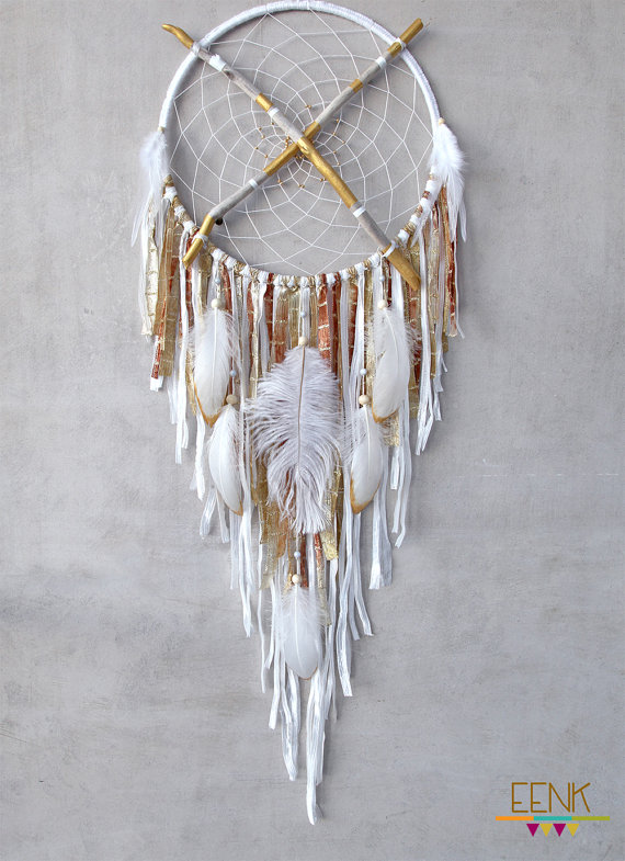 How to Make a Dream-catcher Tutorial & Beautiful DIY Dream-catcher Inspiration Pack for Beginners homesthetics decor (18)