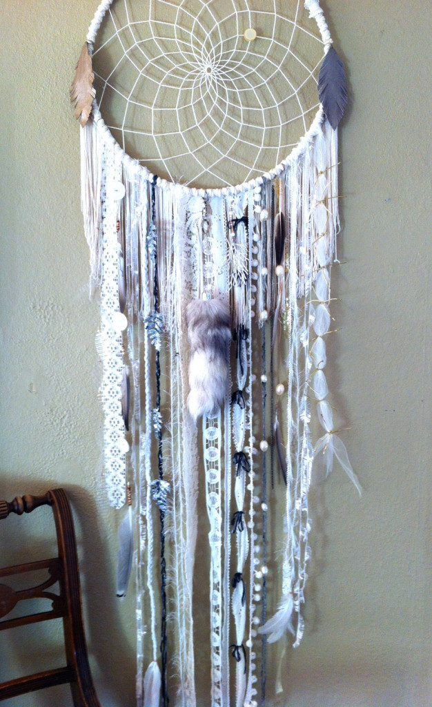 How to Make a Dream-catcher Tutorial & Beautiful DIY Dream-catcher Inspiration Pack for Beginners homesthetics decor (39)