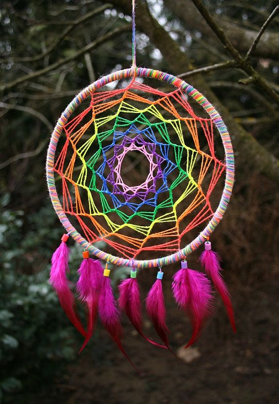 How to Make a Dream-catcher Tutorial & Beautiful DIY Dream-catcher Inspiration Pack for Beginners homesthetics decor (44)
