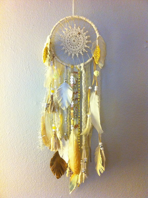 How to Make a Dream-catcher Tutorial & Beautiful DIY Dream-catcher Inspiration Pack for Beginners homesthetics decor (46)