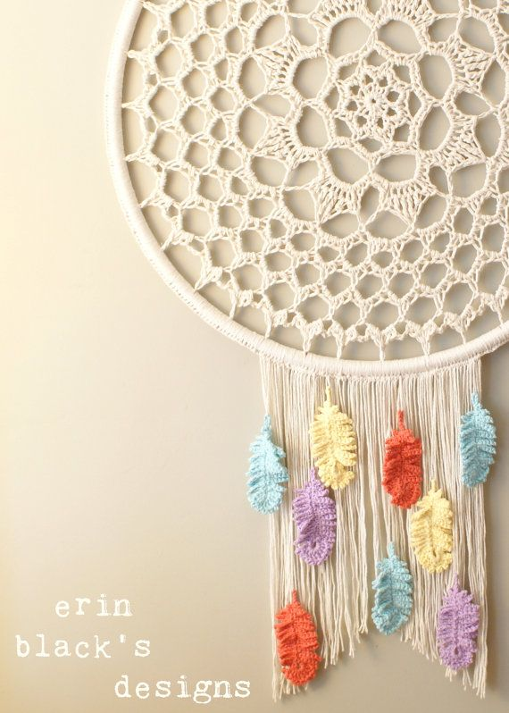 How to Make a Dream-catcher Tutorial & Beautiful DIY Dream-catcher Inspiration Pack for Beginners homesthetics decor (50)