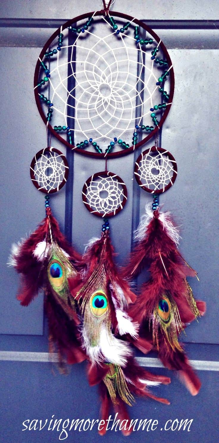 What Do The Beads Mean On A Dream Catcher How to Make a Dreamcatcher Tutorial Inspiration 31