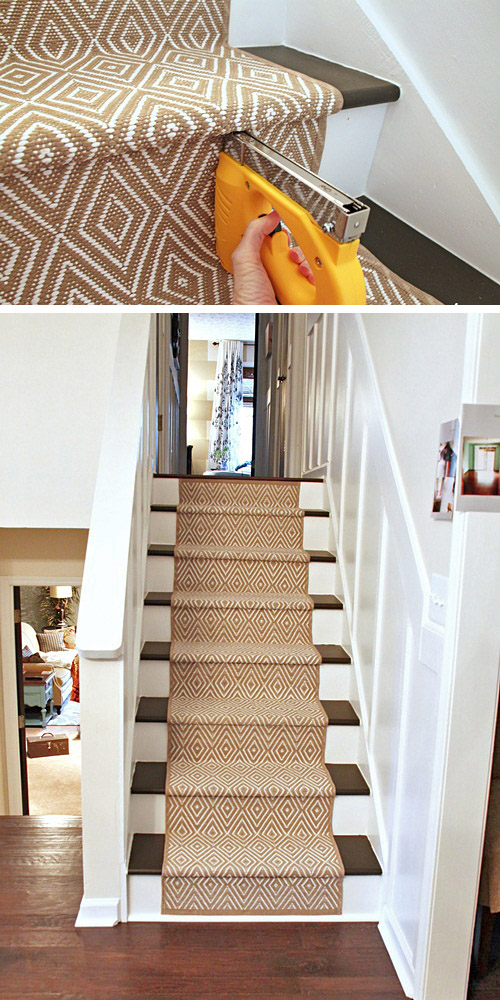 Genial Ideas On DIY Stair Projects (1)
