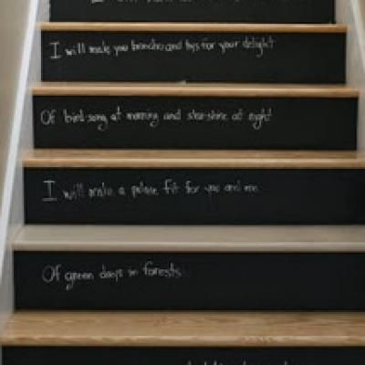 Ideas On DIY Stair Projects (13)