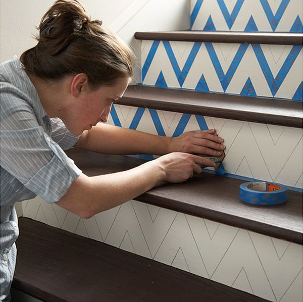 Ideas On DIY Stair Projects (14)
