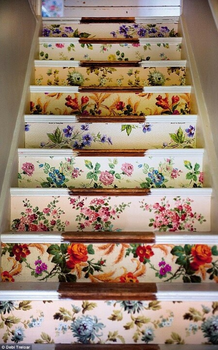 Ideas On DIY Stair Projects (16)