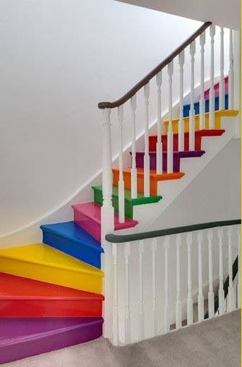Ideas On DIY Stair Projects (17)