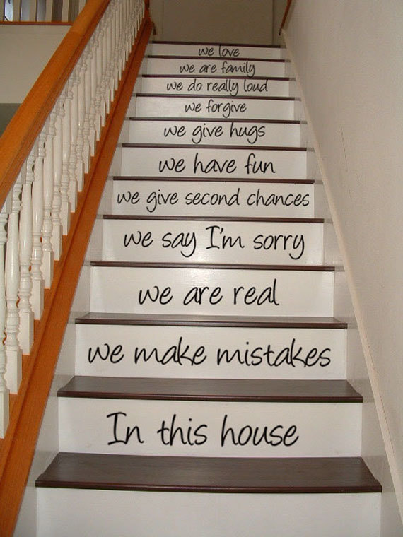 Great Ideas On DIY Stair Projects (20)