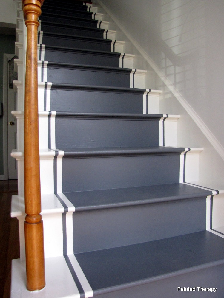 Marvelous Ideas On DIY Stair Projects (21)
