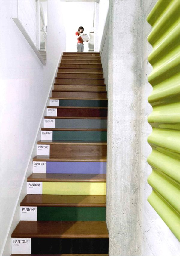 Ideas On DIY Stair Projects (24)