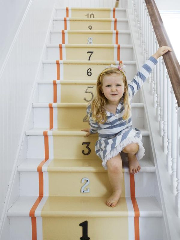 Ideas On DIY Stair Projects (7)