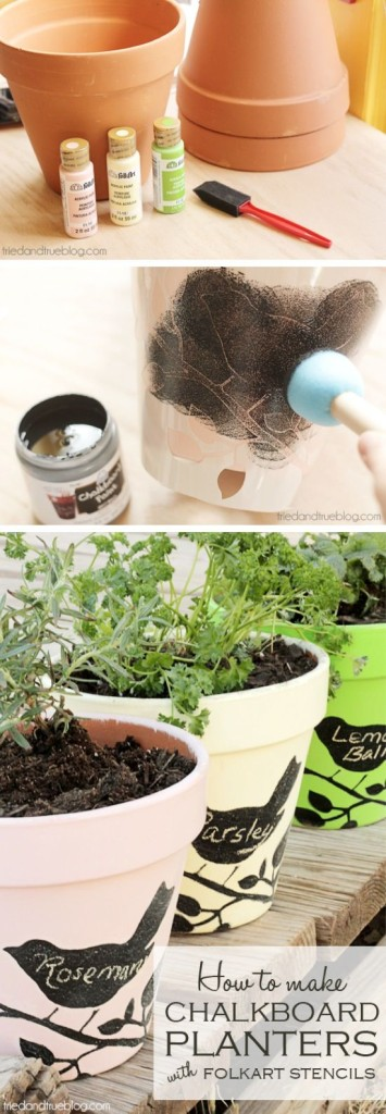 Invite Spring In With Fresh Colorful New DIY Flower Pots Projects_homesthetics.net (2)