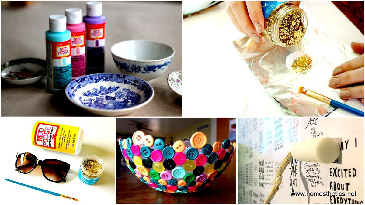 21 simple creative mod podge crafts that you can start